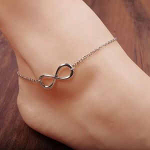 Jewelry - Silver Infinity Anklet